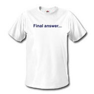 Jesus - final answer