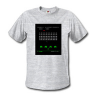 space invaders t shirts