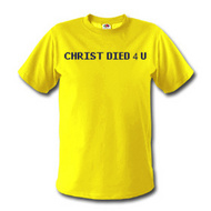 Christ died for  you